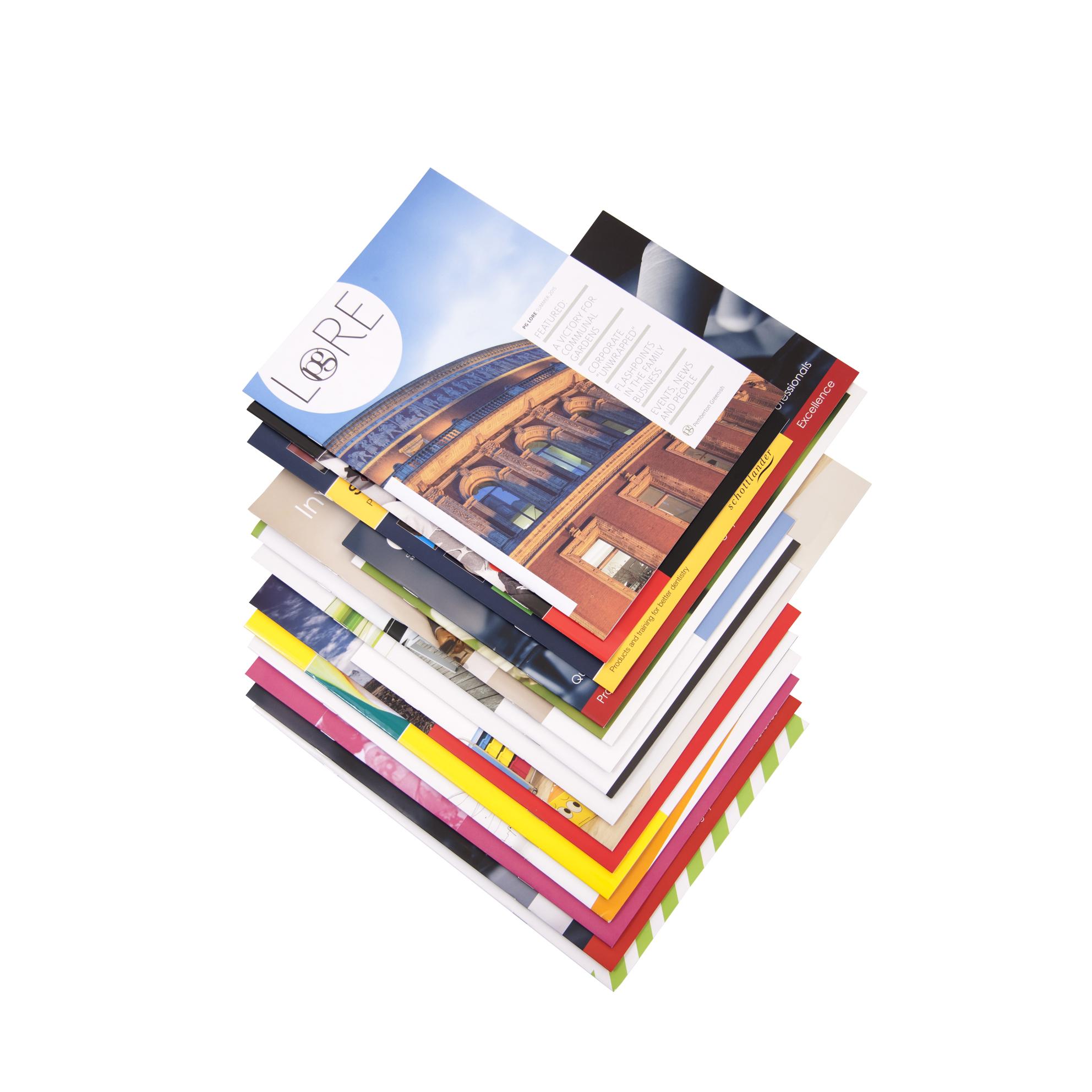 stampled brochures