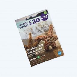 single or double side leaflets
