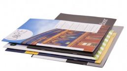 A pile of random brochures
